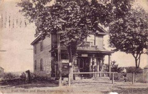 Cherryville Post Office historic images of hunterdon county cherryville