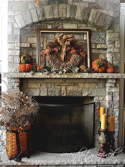 fall mantel decorations fireplace mantel decor ideas for decorating for thanksgiving