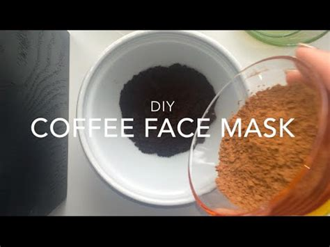 diy coffee mask diy coffee mask moisturizing acne fighting