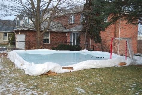Backyard Rink Tarps by Triyae Tarp For Backyard Rink Various Design