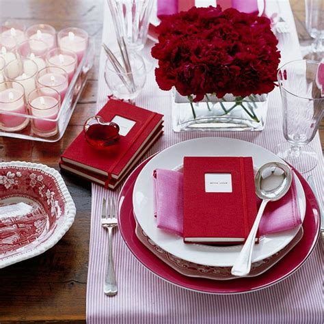 Valentine Table Decorations | romantic table decorating ideas for valentine s day
