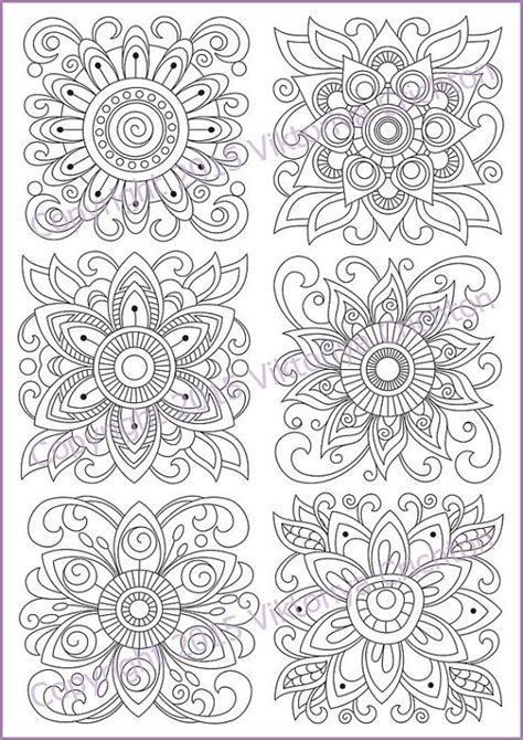 flower doodle coloring pages 1450 best mandala coloring images on coloring
