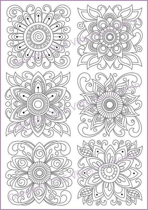 floral inspirations a detailed floral coloring book books 25 b 228 sta mandalas para pintar pdf id 233 erna p 229