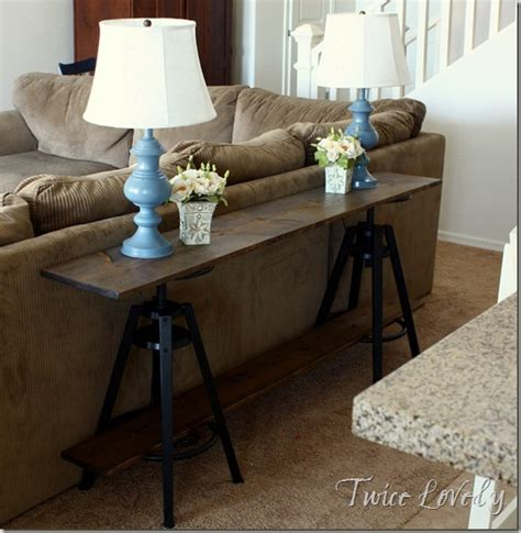 lovely new house update and ikea hack sofa table