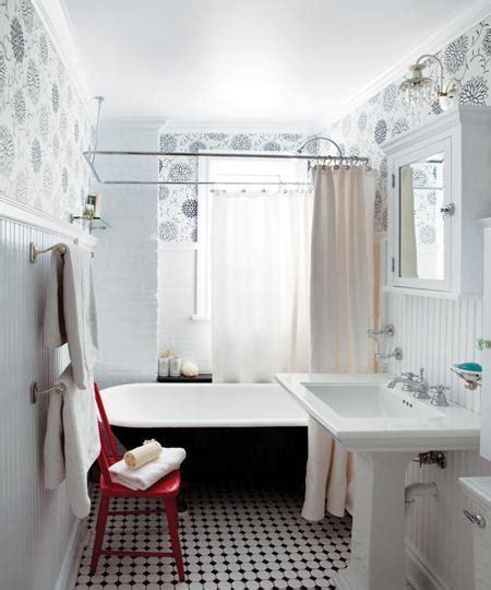 1920s bathroom decor black clawfoot tub cottage bathroom house home