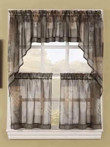 Kitchen Sheer Curtains Kitchen Curtains Lichtenberg Sheer Kitchen Curtains
