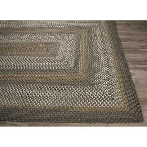 dover rugs jaipur ultra durable braided rugs dover gray taupe ubr03 area rug free shipping