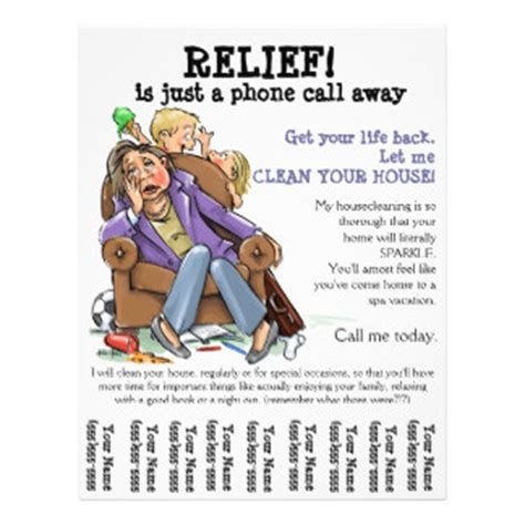 house cleaning services flyer templates cleaning service flyers programs zazzle