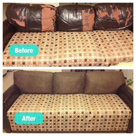 redo sofa cushions fixed my peeling leather cushions for 60 not