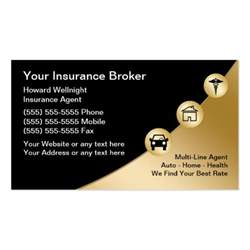 insurance business cards insurance broker business cards zazzle