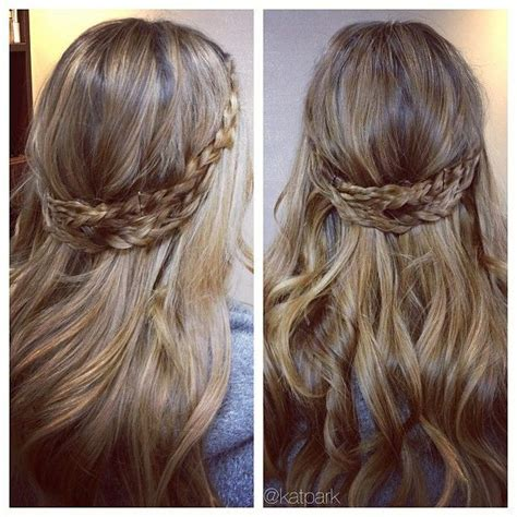 scottish braid celtic huntress hairstyle