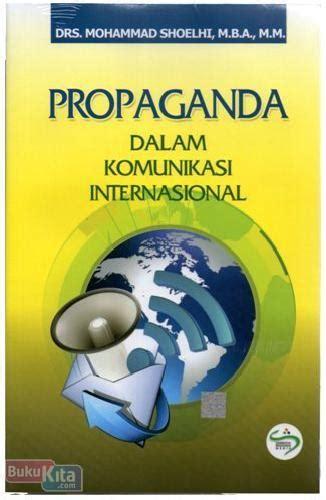 bukukita propaganda dalam komunikasi internasional
