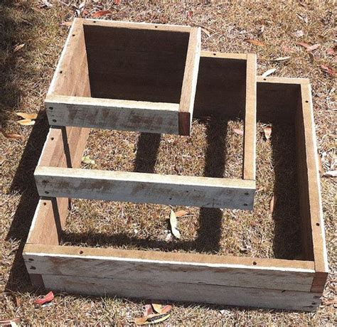 vintage timber tiered planter on etsy 95 00 aud m a