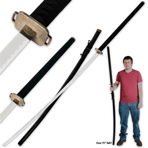Overstock Home Decor by 75 In Odachi Samuari Warrior Sword W Matching Scabbard