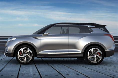 Geneva 2014: SsangYong XLV SUV concept photo gallery   Car