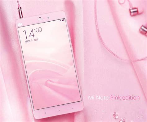 Hp Xiaomi Note Warna Pink xiaomi announces mi note pink edition at 403 gsmarena