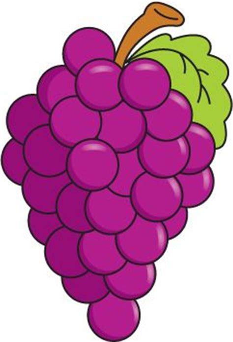 imagenes de uvas para recortar aprende los colores pintando