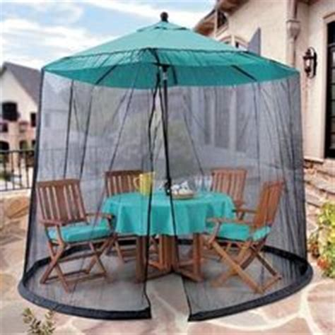 Patio Umbrella With Screen Enclosure 1000 Images About Patio Deck Netting On Mosquito Net Canopy Mosquitoes And