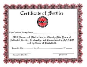 years of service certificate templates years of service quotes like success
