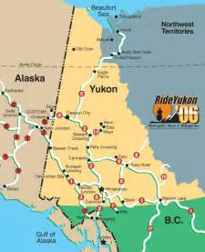 road map of yukon territory