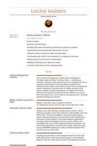 Library Student Assistant Sle Resume by Library Assistant Resume Sles Visualcv Resume Sles Database