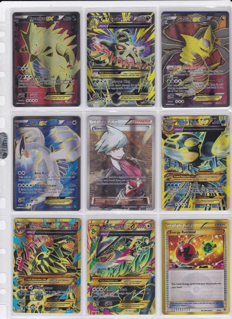 complete 100 card set xy ancient origins
