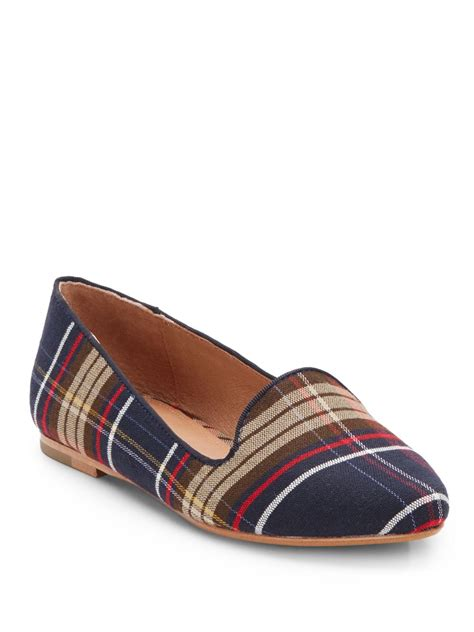plaid loafers joie day dreaming plaid loafers in multicolor for