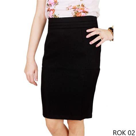 Rok Wanita 1 rok wanita model terbaru katun hitam gudang fashion wanita