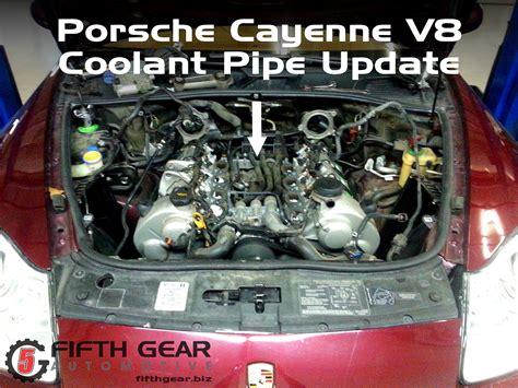 download car manuals 2012 porsche 911 engine control porsche cayenne v8 coolant pipe update fifth gear automotive