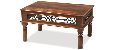 Indian Coffee Tables Uk Jali Sheesham 110 Cm Coffee Table Quercus Living