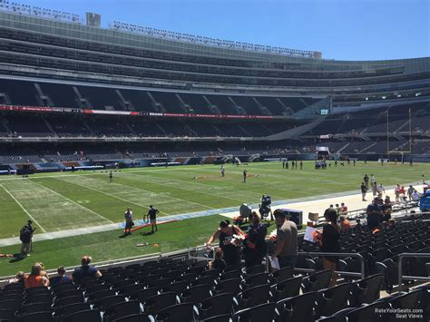 soldier field section 430 soldier field seat view soldier field section 307 chicago