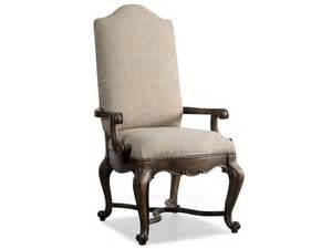 Dining Room Arm Chairs Upholstered by Hooker Furniture Rhapsody Upholstered Arm Chair 5070 75500