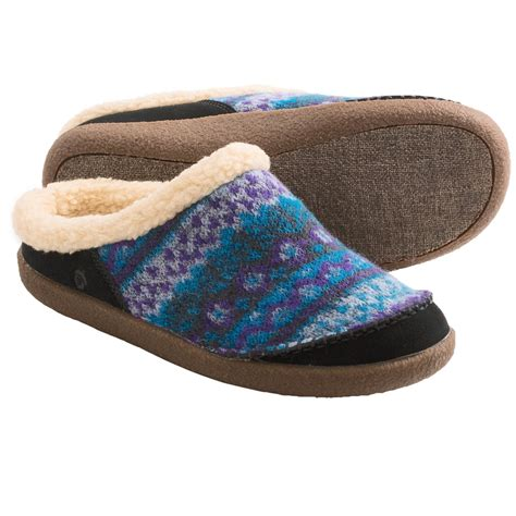 womens slippers acorn crosslander mule slippers for 7649k save 71