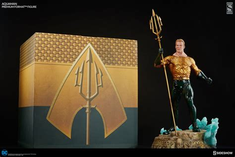 9 Statue Premium aquaman premium format figure by sideshow collectibles actionfiguresdaily