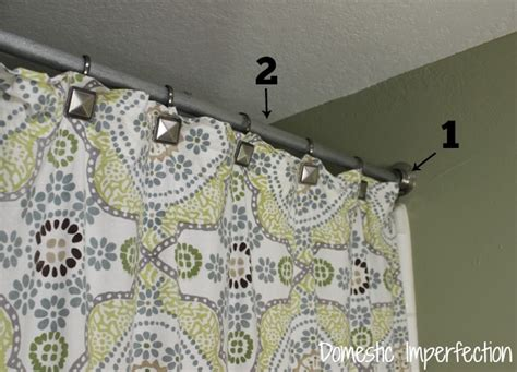 Diy Shower Curtain Rod by Industrial Bathroom Hardware Domestic Imperfection