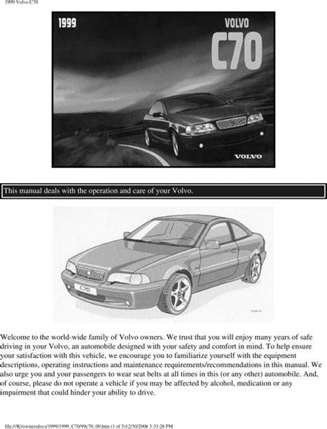 free auto repair manuals 1999 volvo c70 windshield wipe control owners best repair manual download