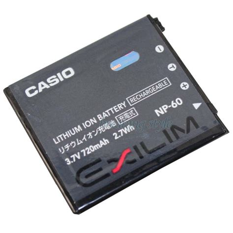 Batterai Casio Np 80 Limited new genuine original casio np 60 np60 li ion battery for ex z80 z9 fs10 bc 60l ebay