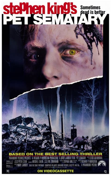 Vcd Pet Sematary Two pet sematary 1989 in
