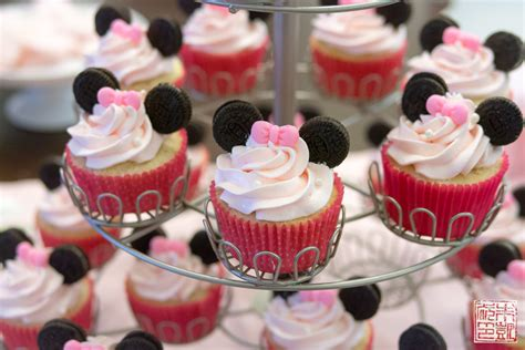 Kid Room Decoration by Minnie Mouse Cupcakes For A 3rd Birthday Party Dessert First
