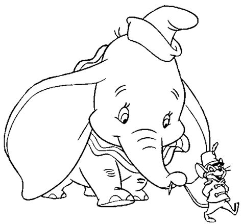 Dumbo Coloring Pages To Print Az Coloring Pages Dumbo Pictures To Color