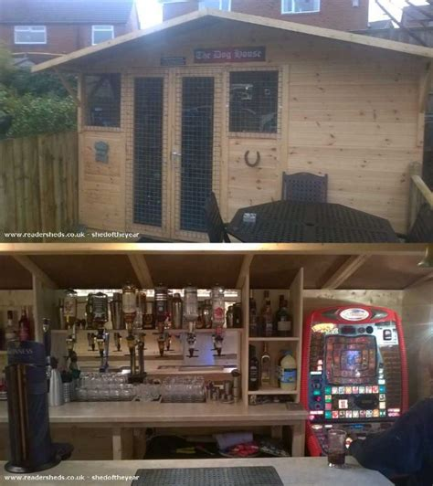 backyard pub awesome backyard sheds turned into pubs cube breaker