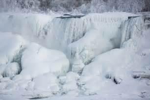frozen niagara falls 3500x2333 photo lindsay dedario xpost