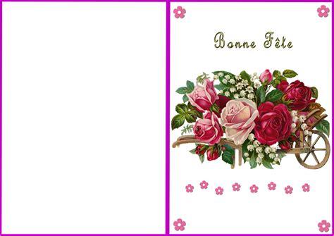 Carte De Fetes Gratuites by Carte 224 Imprimer Bonne F 234 Te