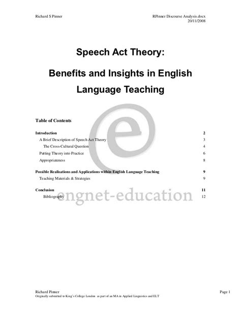 Searle 1969 Speech Acts An Essay In The Philosophy Of Language by Speech Acts An Essay On The Philosophy Of Language 1969 Argumentativemeaning X Fc2