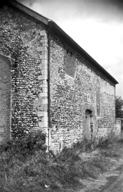 Buckenham Castle: old photos in New Buckenham archive