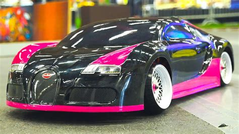 RC DRIFT CAR RACE MODEL BUGATTI VEYRON IN AWESOME ACTION