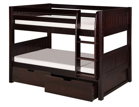 woodland with trundle beds low bunk