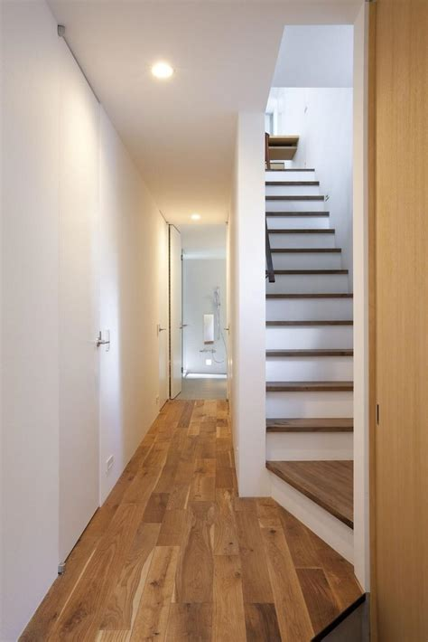 Narrow Staircase Design Extremely Narrow House Modern House Designs