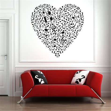 musical note wall stickers musical notes wall stickers wall decal