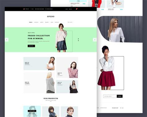 Free Modern Fashion Store Website Template Psd At Freepsd Cc Fashion Store Website Templates